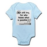 Faraday Try Quote Infant Bodysuit