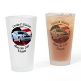Dodge Challenger SRT8 Drinking Glass