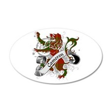 Cameron Tartan Lion Wall Decal