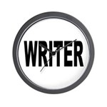 Writer Wall Clock