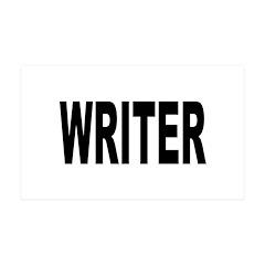 Writer 38.5 x 24.5 Wall Peel