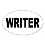Writer Sticker (Oval 50 pk)