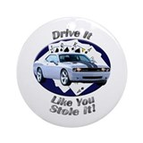 Dodge Challenger SRT8 Ornament (Round)