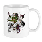 Carnegie Tartan Lion Small Mugs