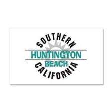 Huntington Beach California Car Magnet 20 x 12