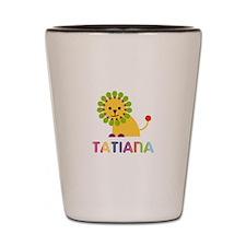 Tatiana the Lion Shot Glass