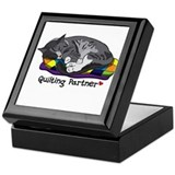 Quilting Partner Keepsake Box