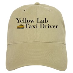 Yellow Lab Taxi Cap