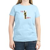 I see RABBITS! sims Women's T-Shirt
