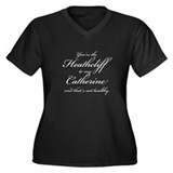 Heathcliff and Catherine Women's Plus Size V-Neck