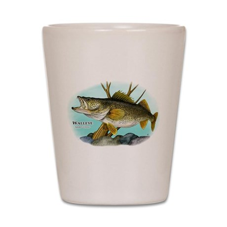 Walleye Shot Glass