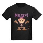 Little Monkey Margaret Kids Dark T-Shirt