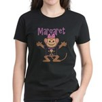 Little Monkey Margaret Women's Dark T-Shirt