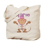 Little Monkey Marie Tote Bag