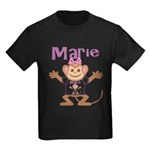 Little Monkey Marie Kids Dark T-Shirt