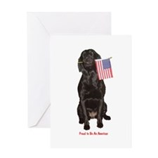 proud american Greeting Card