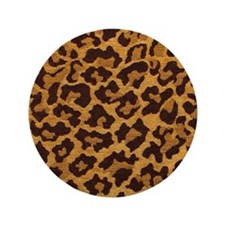 "LEOPARD 3.5"" Button (100 pack)"