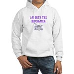 I'M WITH THE DRUMMER Hooded Sweatshirt