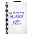 I'M WITH THE DRUMMER Journal