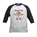 Little Monkey Maureen Kids Baseball Jersey