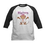 Little Monkey Maureen Kids Baseball Jersey