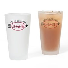 Cross Country Coach Drinking Glass