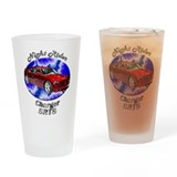 Dodge Charger SRT8 Drinking Glass