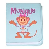 Little Monkey Monique baby blanket