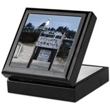 Private Parking Gull Keepsake Box