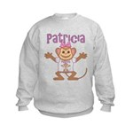 Little Monkey Patricia Kids Sweatshirt