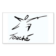 Touche Rectangle Decal