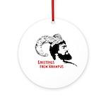 Greetings From Krampus tree ornament