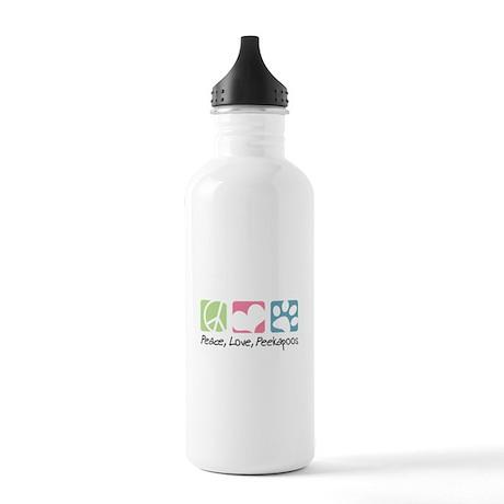 Peace, Love, Peekapoos Stainless Water Bottle 1.0L