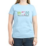 Peace, Love, Peekapoos Women's Light T-Shirt