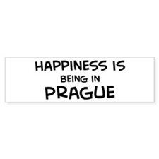 Happiness is Prague Bumper Bumper Sticker