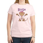 Little Monkey Rose Women's Light T-Shirt