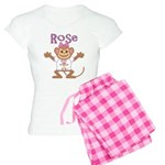 Little Monkey Rose Women's Light Pajamas