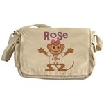 Little Monkey Rose Messenger Bag
