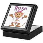Little Monkey Rose Keepsake Box
