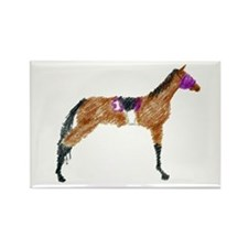 Racehorse II Rectangle Magnet