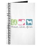 Peace, Love, Akitas Journal