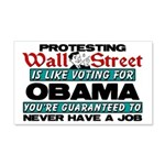 """Protesting Wall Street"" Wall Peel"