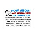 """""""Angry Liberal Mob"""" Wall Peel"""