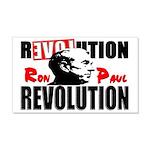"""Ron Paul Revolution"" 22x14 Wall Peel"