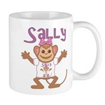 Little Monkey Sally Mug