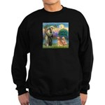 St Francis - 2 Goldens Sweatshirt (dark)