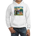 St Francis - 2 Goldens Hooded Sweatshirt