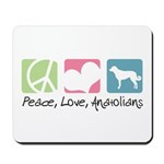 Peace, Love, Anatolians Mousepad
