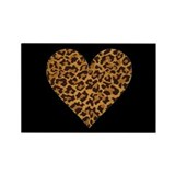 LEOPARD Rectangle Magnet (100 pack)