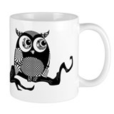 Cute Graphic Owl Small Mug